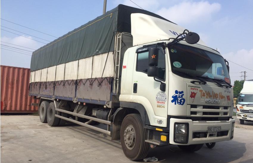 Quy trình nhập khẩu hàng hóa bằng đường bộ