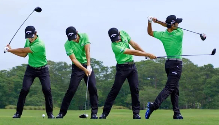 Cách cầm gậy chơi golf
