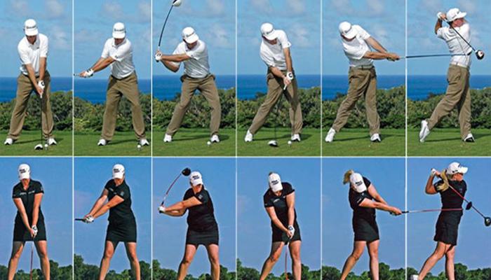 Nắm chắc kĩ thuật Swing golf